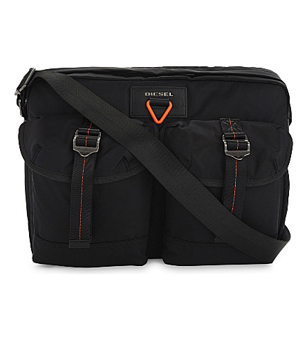 DIESEL Logo messenger bag