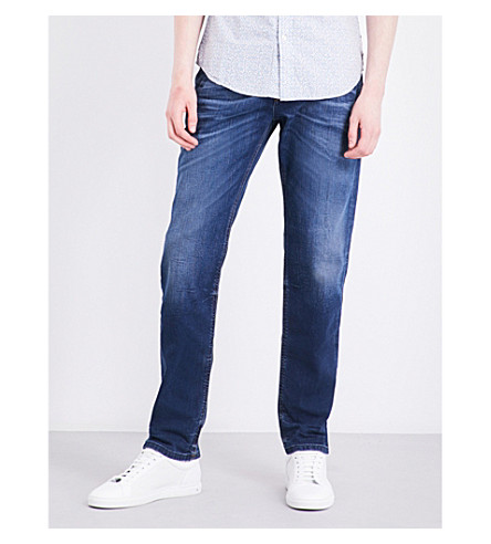 DIESEL Larkee regular-fit tapered jeans (Denim+blue