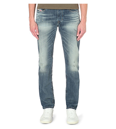DIESEL Larkee regular-fit tapered jeans (Denim