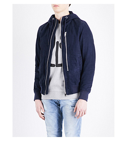 DIESEL L-Flo suede jacket (Surf+the+web