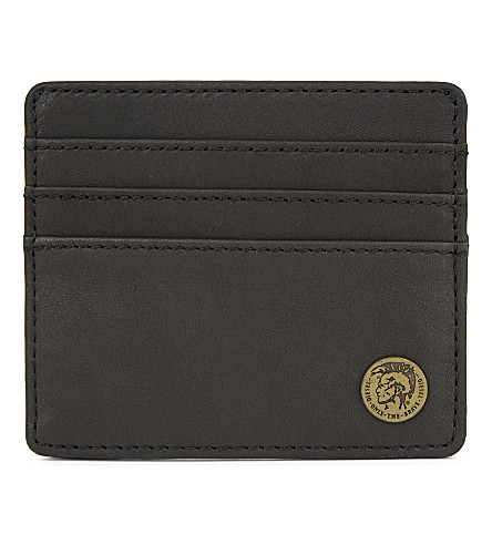 DIESEL Mohican Johnas I Plus leather card holder