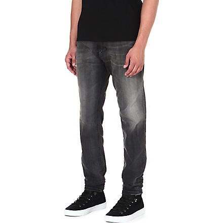 DIESEL Narrot loose-fit tapered jeans (02 (black)