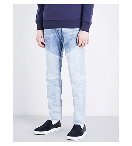 DIESEL Narrot relaxed-fit tapered jeans (Denim+blue