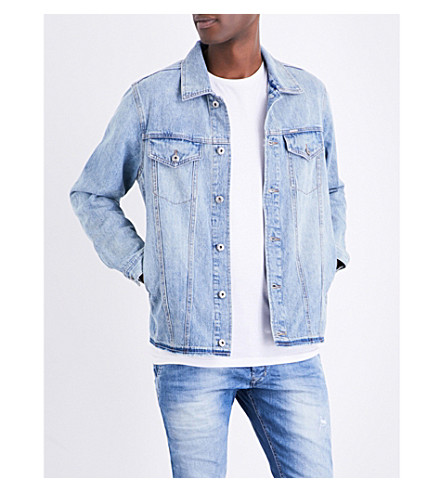 DIESEL Nhill-Re denim jacket (Blue