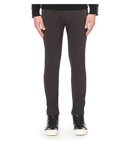 DIESEL P-herk cotton-jersey jogging bottoms (Black