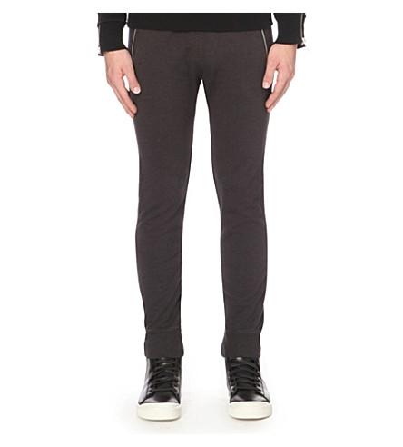 DIESEL P-herk cotton-jersey track pants (Black