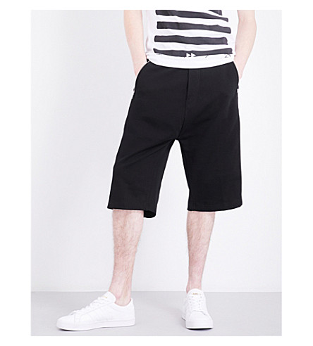DIESEL P-Mike stretch-cotton shorts (Black
