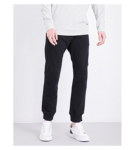DIESEL P-Narc tapered high-rise jogging bottoms (Black