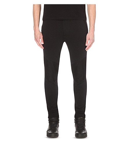 DIESEL P-soul cotton-jersey jogging bottoms (Black