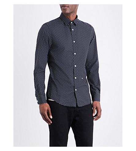 DIESEL Blanca slim-fit cotton shirt (Black