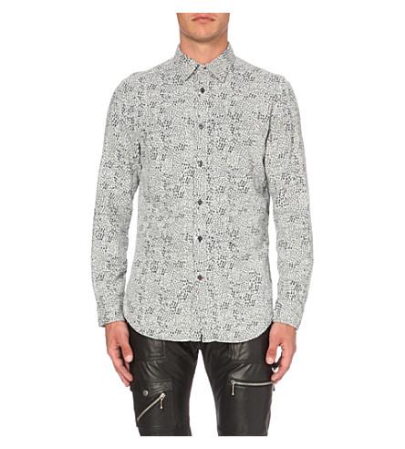 DIESEL S-five slim-fit cotton shirt (White