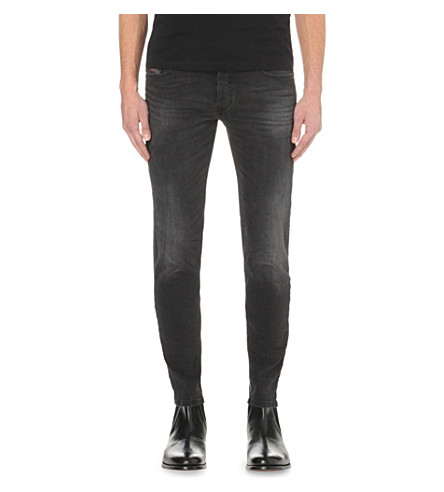 DIESEL Sleenker 0670 slim-fit skinny jeans (Denim0670i