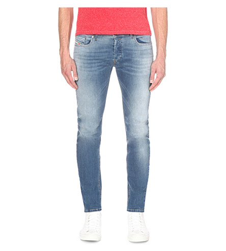 DIESEL Sleenker 0852 slim-fit skinny jeans (Denim