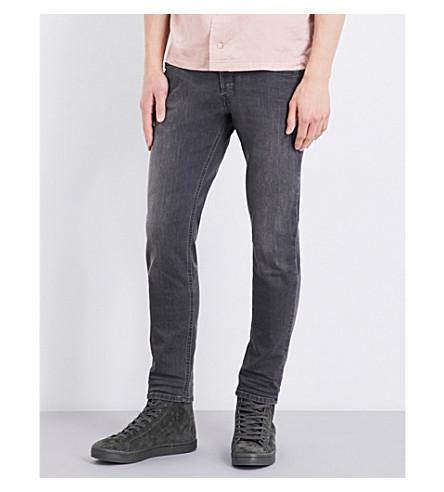 DIESEL Sleenker skinny mid-rise stretch-denim jeans (Black