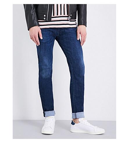 DIESEL Sleenker skinny mid-rise jeans (Denim+blue