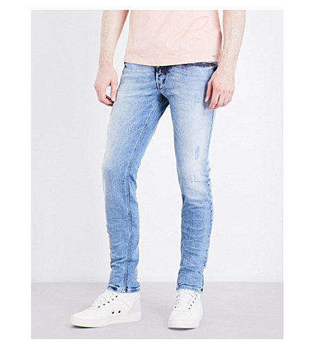 DIESEL Sleenker slim-fit skinny jeans (Denim+blue