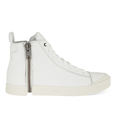 DIESEL S-nentish high-top trainers (White