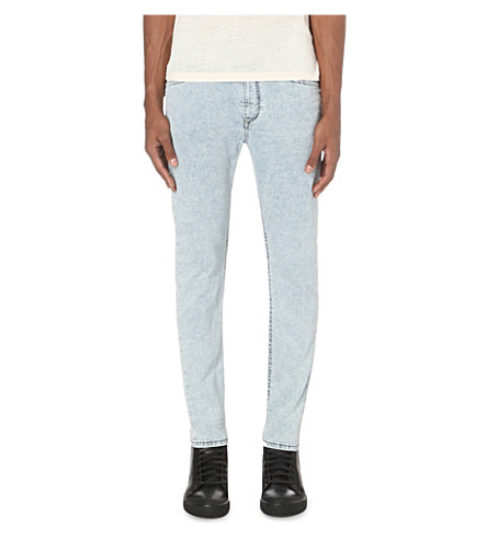 DIESEL Spender 0672 slim-fit skinny joggjeans (Denim0672c