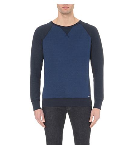 DIESEL S-zaf raglan-sleeve sweatshirt (Blue