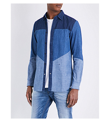DIESEL Tammy-d cotton shirt (Blue