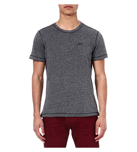 DIESEL Tcrepin pocket t-shirt (99h (black)