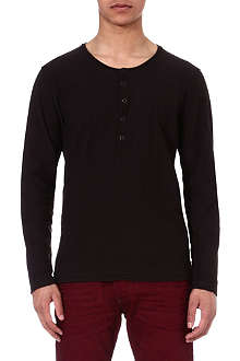 DIESEL Tcanopyl long-sleeved top