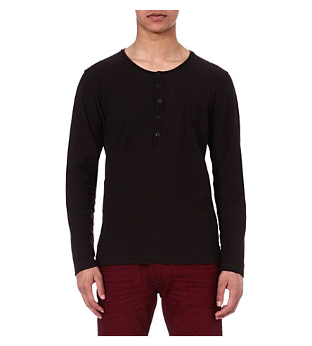 DIESEL Tcanopyl long-sleeved top (900 (black)