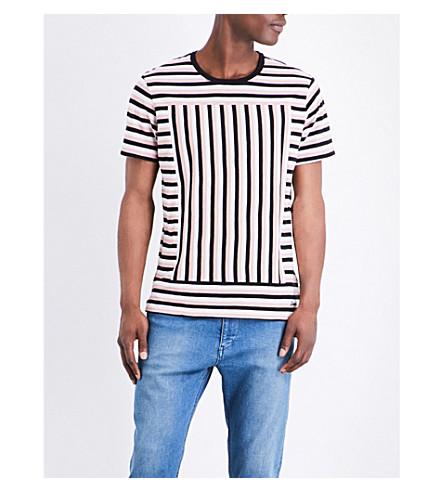 DIESEL T-edwin cotton-jersey T-shirt (Misty+rose