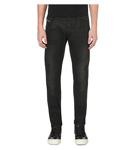 DIESEL Tepphar 0671e slim-fit tapered jeans (Denim0671e