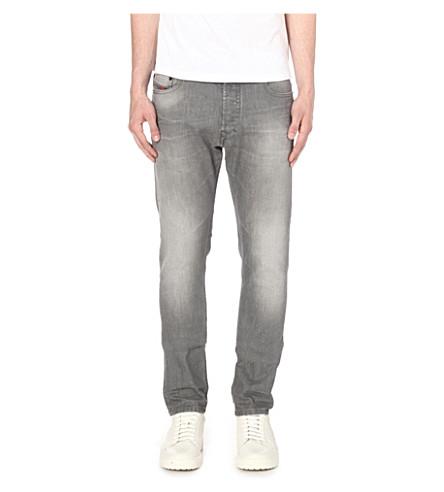 DIESEL Tepphar 0853 slim-fit tapered jeans (Denim