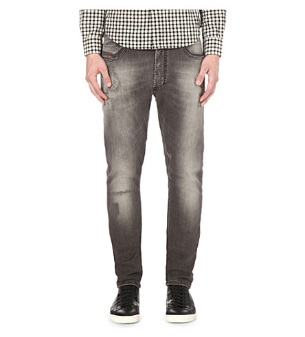 DIESEL Tepphar 0674 slim-fit tapered jeans (Denim