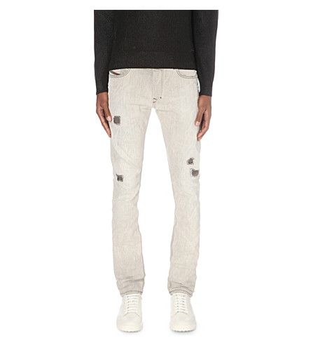 DIESEL Tepphar 0676m slim-fit tapered jeans (Denim