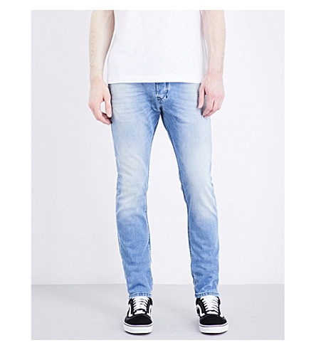 DIESEL Tepphar slim-fit tapered jeans (Denim+blue