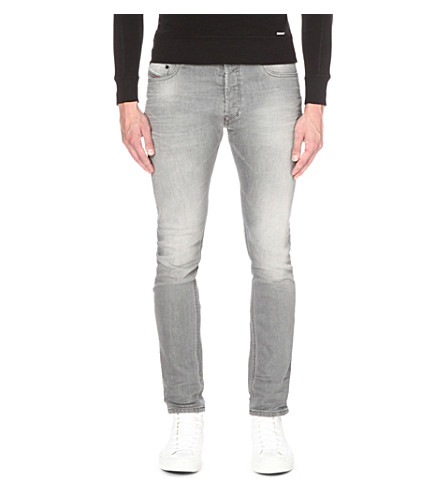 DIESEL Tepphar 0853t slim-fit tapered jeans (Denim