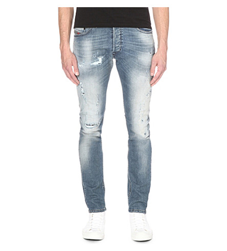 DIESEL Tepphar 0854z slim-fit tapered jeans (Denim