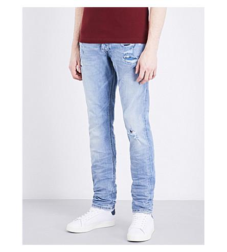 DIESEL Tepphar slim-fit tapered jeans (Denim+blue