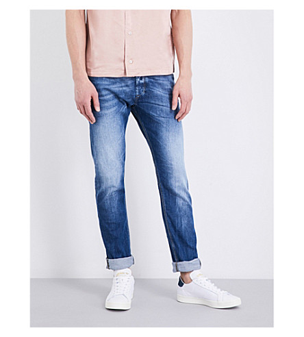 DIESEL Tepphar slim-fit skinny jeans (Denim+blue