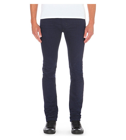 DIESEL Thavar 0847e slim-fit skinny jeans (Navy