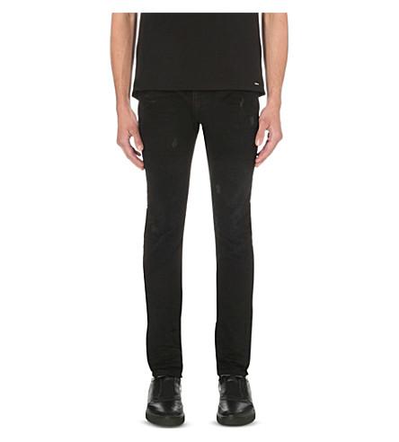 DIESEL Thavar 0676l slim-fit tapered jeans (Denim