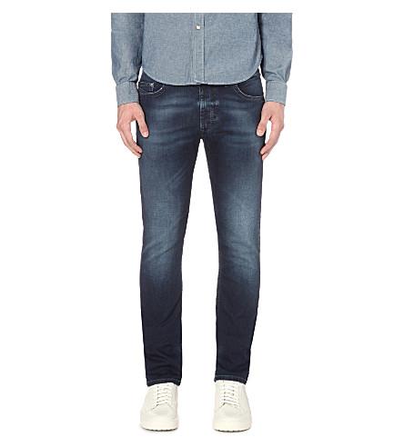 DIESEL Thavar 0674y slim-fit tapered jeans (Denim