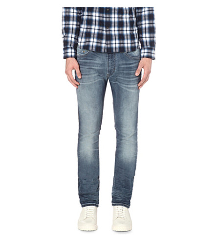 DIESEL Thavar 0674z slim-fit tapered jeans (Denim
