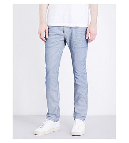DIESEL Thavar-NE regular-fit tapered jeans (Denim