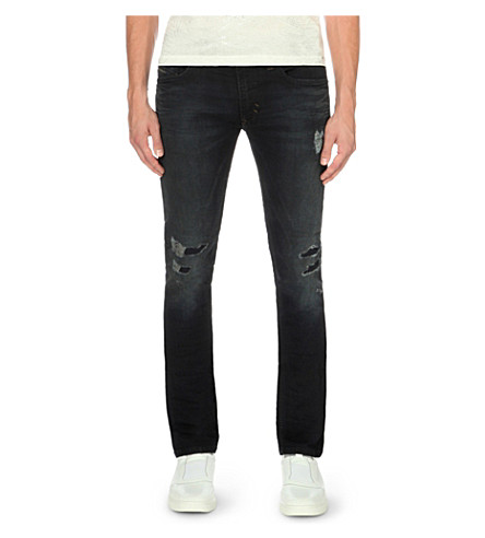DIESEL Thavar sp-ne 0676e regular-fit tapered jeans (Denim