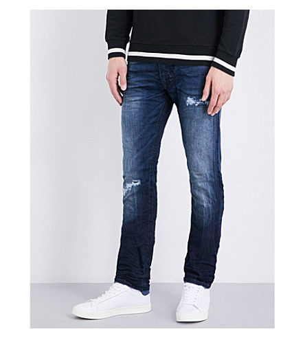 DIESEL Thavarne slim-fit skinny jeans (Denim+blue