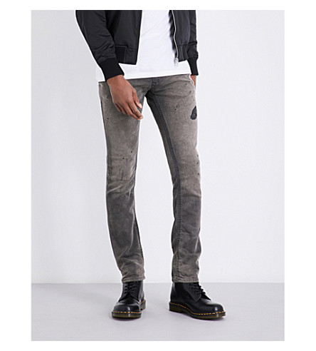 DIESEL Thavar regular-fit skinny jeans (Black