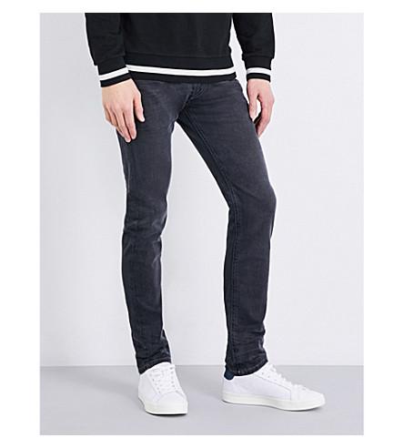 DIESEL Thommer 修身版型紧身牛仔裤 (黑色
