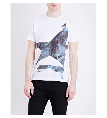 DIESEL T-joe cotton-jersey T-shirt (Bright+white