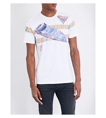 DIESEL T-joe-na cotton-jersey T-shirt (Bright+white
