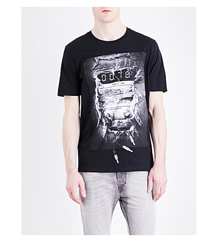 DIESEL T-Joe cotton T-shirt (Black