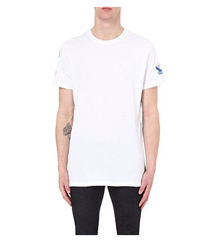 DIESEL T-Markus-ab cotton-jersey t-shirt (White